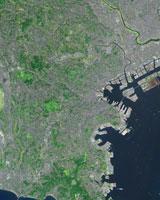 横浜市 鳥瞰図