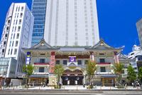 歌舞伎座 25991003130  写真素材・ストックフォト・画像・イラスト素材 アマナイメージズ