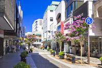 横浜元町の商店街
