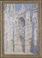 ルーアン大聖堂(青と金の色調)