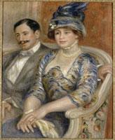 ベルンアイム・ドゥ・ヴィラー夫妻