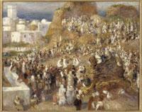 モスク、アラブの祭り