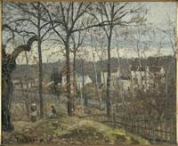 ルーヴシェンヌの冬の風景