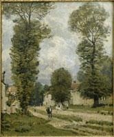 ヴェルサイユの道 シスレー