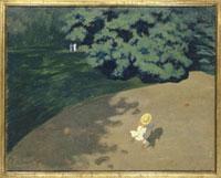 風船で遊ぶ子供