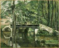 マンシーの橋 ポール・セザンヌ 26004003358| 写真素材・ストックフォト・画像・イラスト素材|アマナイメージズ