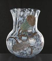 ガラス製品 花瓶「月の光」
