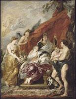 ルイ13世の誕生 ルーベンス 26004004835| 写真素材・ストックフォト・画像・イラスト素材|アマナイメージズ