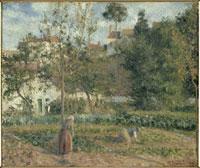 エルミタージュの野菜畑