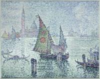 緑の帆船 ヴェネチア