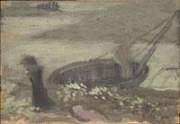 貧しき漁夫(下絵)