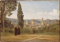 フィレンツェ ボボリ庭園の眺め