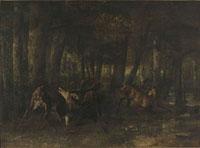 春の発情(鹿の闘い)