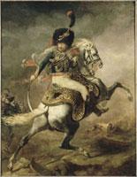 突撃する近衛猟騎兵士官 26004016929| 写真素材・ストックフォト・画像・イラスト素材|アマナイメージズ
