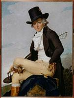 ダヴィッドの義弟セリジアの肖像