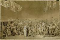 テニス・コートの誓い1789年6月20日 26004016951| 写真素材・ストックフォト・画像・イラスト素材|アマナイメージズ