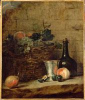 ブドウの籠