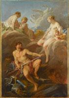 アイネイアスのために武器を注文するヴィーナス