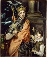 フランス国王聖ルイと侍童 26004017112| 写真素材・ストックフォト・画像・イラスト素材|アマナイメージズ