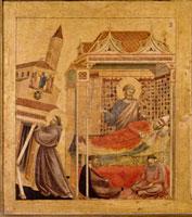 聖痕を受ける聖フランチェスコ(部分)