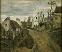 オーヴェールの村の道