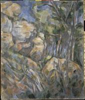 シャトー・ノワールの洞窟の岩