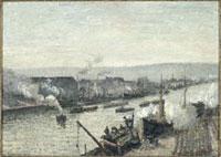ルーアンの港