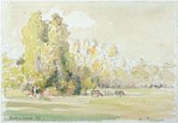 バジンクールの木々