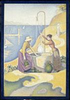 井戸端の女たち