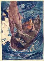 アルバム「ノアノア」 難船 26004017682| 写真素材・ストックフォト・画像・イラスト素材|アマナイメージズ