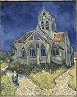 オーヴェール・シュール・オワーズの教会