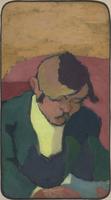 Portrait de Ker Xavier Roussel dit Le Liseur