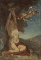 聖セバステャンの殉教(習作)