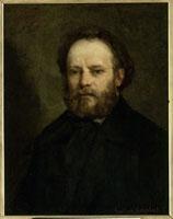 1853年のプルードンの肖像