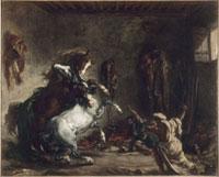 厩舎で争う2匹のアラビア馬 26004017833| 写真素材・ストックフォト・画像・イラスト素材|アマナイメージズ