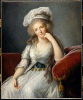 ルイーズ・マリー・アデレイド・ド・ブルボンの肖像