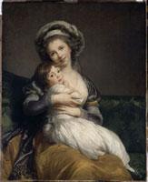 ヴィジェ=ルブラン夫人と娘