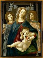 ザクロをもった聖母子