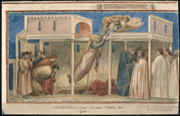 イタリアのアルバム ジョットによる聖ヨハネの復活