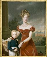 ベリー公爵夫人とボルドー公爵