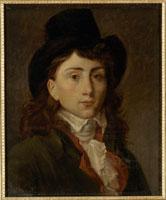 画家グロの肖像