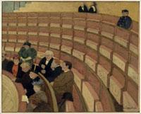 シャトレーの劇場の3階の回廊席