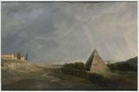 ピラミッドと虹 26004018221| 写真素材・ストックフォト・画像・イラスト素材|アマナイメージズ