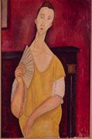 Femme a l'eventail (Lunia Czechowska)