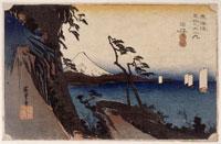 由比 薩た嶺(東海道五十三次) 26004018506| 写真素材・ストックフォト・画像・イラスト素材|アマナイメージズ