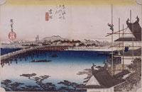 吉田 豊川橋(東海道五十三次) 26004018508| 写真素材・ストックフォト・画像・イラスト素材|アマナイメージズ