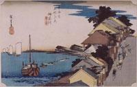 神奈川 台の景(東海道五十三次)
