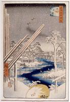 深川木場(名所江戸百景)