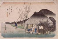 丸子 名物茶店(東海道五十三次) 26004018531| 写真素材・ストックフォト・画像・イラスト素材|アマナイメージズ