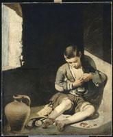 Le Jeune mendiant/蚤をとる少年 26004018580| 写真素材・ストックフォト・画像・イラスト素材|アマナイメージズ